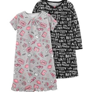 Carter's 2-3T nightgowns